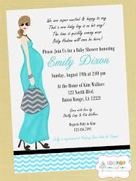 cute baby shower invite wording for a