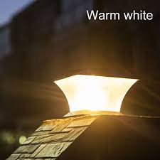 Ip65 Solar Post Light Fence Light Column Light Outdoor Solar Lamp For Garden Gate Fence Courtyard Cottage Path Landscape Light Lazada Ph