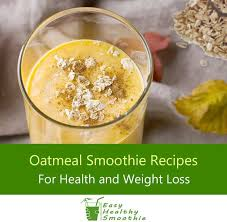 10 best oatmeal smoothie recipes for