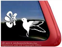 Custom Hummingbird Bird Decals Stickers Nickerstickers