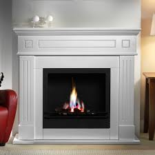 warrmth ethanol fireplace with mantel