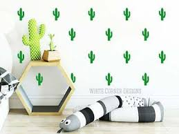 Cactus Wall Decals Cacti Wall Stickers Nursery Decals Tribal Decals Cactus Ebay
