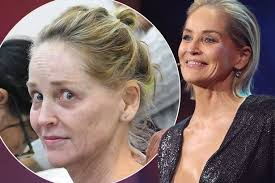 sharon stone unrecognisable without