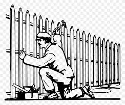 Picket Fence Gate Garden Chain Link Fencing Picket Fence Clipart Stunning Free Transparent Png Clipart Images Free Download