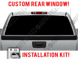 Pin On Truck Perforated Back Window