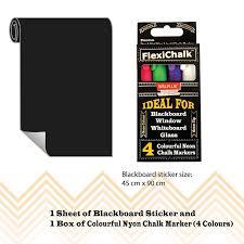 Symple Stuff Flexi Chalkboard Wall Decal Wayfair