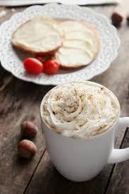 homemade hazelnut coffee creamer
