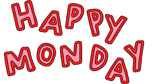 Happy Monday Sticker by Poppy Deyes for iOS & Android | GIPHY