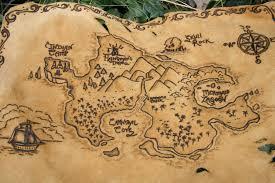 Pin Von Ryan Auf Cartes Du Pays Imaginaire Maps Of Neverland Schatzkarten Fur Kinder Piratenkarten Neverland Karte