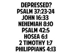 bible quotes about depression quotesgram