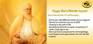 happy guru nanak jayanti guru nank dev ji s philosophy