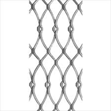 Roman Deco Guard Fence Panel 4 X 8