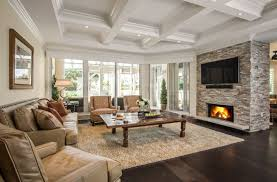 stacked stone fireplace designs and the