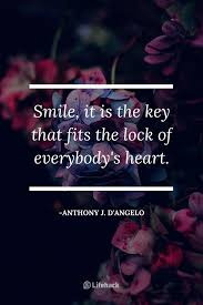 smile quotes that remind you of the value of smiling