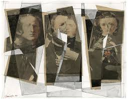 Millais, Ruskin, and Effie Gray Mixed Media by Paul HAIGH