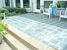concrete patio resurfacing ideas