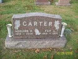 Adeline Rose Lumbrezer Carter (1916-2006) - Find A Grave Memorial