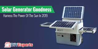 the 2020 solar generator chion is