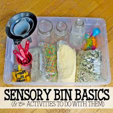 sensory bin basics what you need to