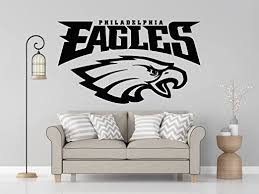 Buy Nfl Logo Decal Eagles Nfl Decal Eagles Stickers Philadelphia Eagles Large Decal Eagles Decal Eagles Sticker Eagles Wall Decal Philadelphia Eagles Logo Decal Eagles Decor Pf78 13 X 22 Online At