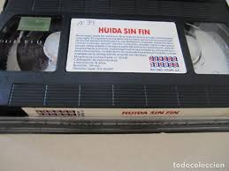 vhs video huida sin fin marc f. voizard kristia - Buy VHS Movies ...
