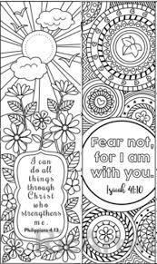 8 Bible Verse Coloring Bookmarks Kleurplaten Bijbel Kleurplaten