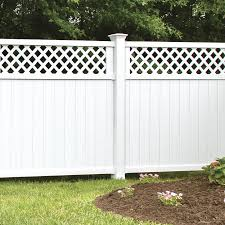 Freedom Pre Assembled 5 In X 5 In W X 8 Ft H White Vinyl Blank Fence Post In The Vinyl Fence Posts Department At Lowes Com