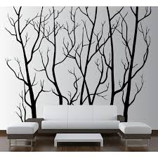 Isabelle Max Tree Forest Branches With Birds Wall Decal Reviews Wayfair