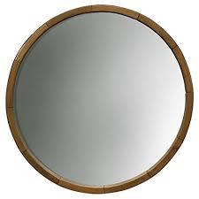 round wood mirrors com