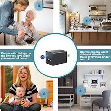 Mini Spy Camera Usb Charger By Wemlb 1080p Hd Hidden Camera Wifi Wireless Wall Plug Usb Charger Motion Detection Ac Adapter Remote App Control Nanny Camera Home Kids Baby Pet Monitoring