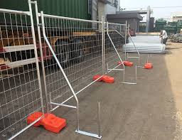 Our High Quality Chainlinkfence Panels Are Free Standing So No Drilling Is Required Protecting Your Pavement A Fence Panels Chain Link Fence Security Fence