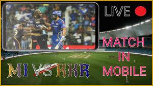IPL 2020 - KKR vs MI Live Match In ...