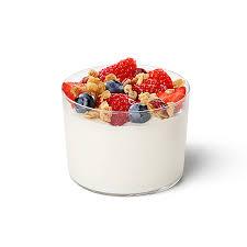 greek yogurt parfait nutrition and
