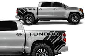 Toyota Tundra 2014 2020 Custom Vinyl Decal Kit Tundra Quarter Factory Crafts