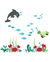 Big Savings For Under The Sea Wall Decal Dolphin Wall Decal