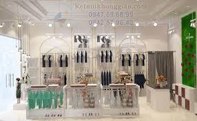 Thiết kế shop mẹ và bé cao cấp Luxfam 40m2 - Hà Nội