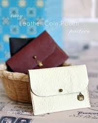 leather coin purse leather wallet