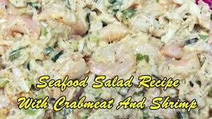 Seafood Salad Recipe With Crabmeat And ...