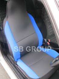 van seat covers anthracite cloth fabric