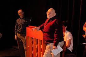 Ivan Davidson | Professor emeritus Ivan Davidson speaks to t… | Flickr