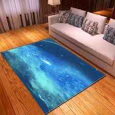 3d Galaxy Universe Star Rug Bedroom Kids Room Play Mat Carpet Flannel Dining Table Sofa Area Rugs Large Carpet Living Room Carpet Aliexpress