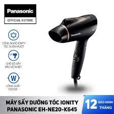 Mua Máy Sấy Dưỡng Tóc Ionity Panasonic EH-NE20-K645 - Sấy Ion bảo vệ tóc -  Tay cầm gập tiện lợi - Bảo Hành 12 Tháng - Hàng Chính Hãng giá rẻ 750.000₫