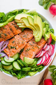 Avocado Salmon Salad Recipe (VIDEO ...