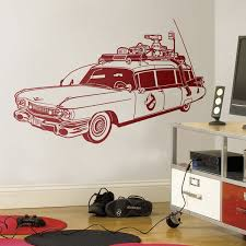 Wall Decal Ghostbusters Ecto 1 Muraldecal Com