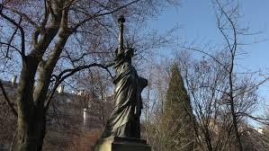 replica of statue of liberty stock