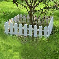 china plastic garden small fence