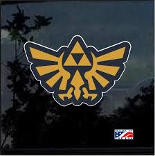 Zelda Triforce Full Color Decal Sticker Custom Sticker Shop