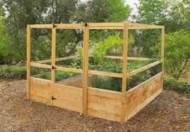 8 X8 Raised Bed Gated Garden Kit Deer Proof Garden Bed Kits Vegetable Garden Raised Beds Building A Raised Garden