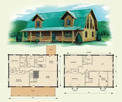 log cabin house plans with loft with