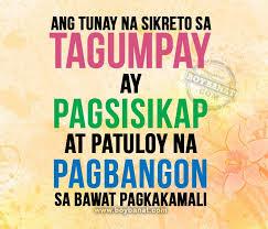 tagalog motivational quotes and pinoy motivation sayings boy banat